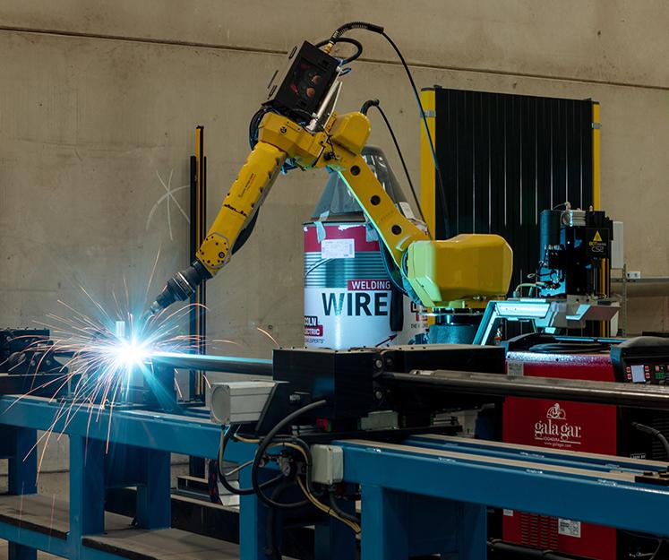 Robotización de soldadura