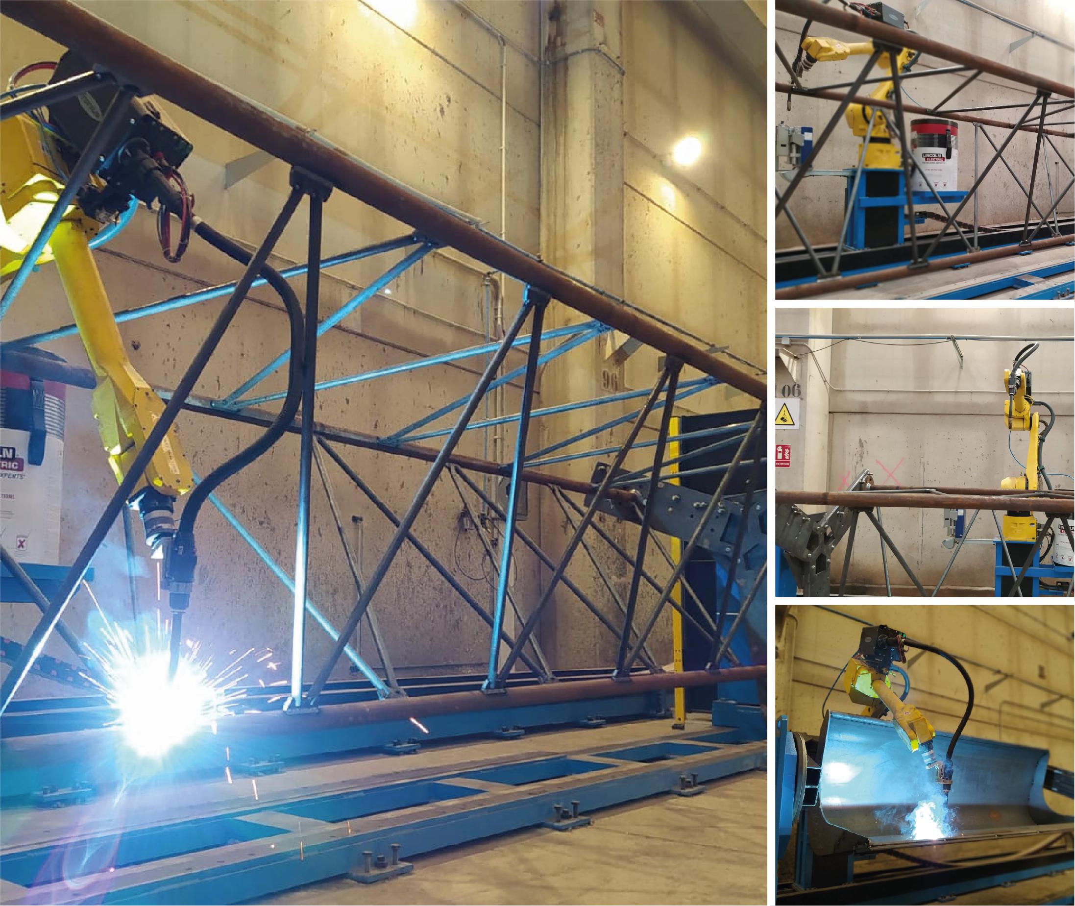 Un nouveau robot avec un « track » de 18 mètres